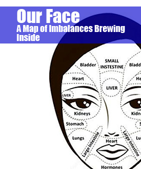 Face Map of Health Imbalances | Health and Healing | Livonia, Michigan
